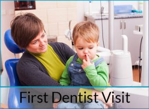 your childs first dentist visit