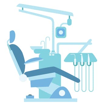 Dental Insurance - Dentist Chair Vector